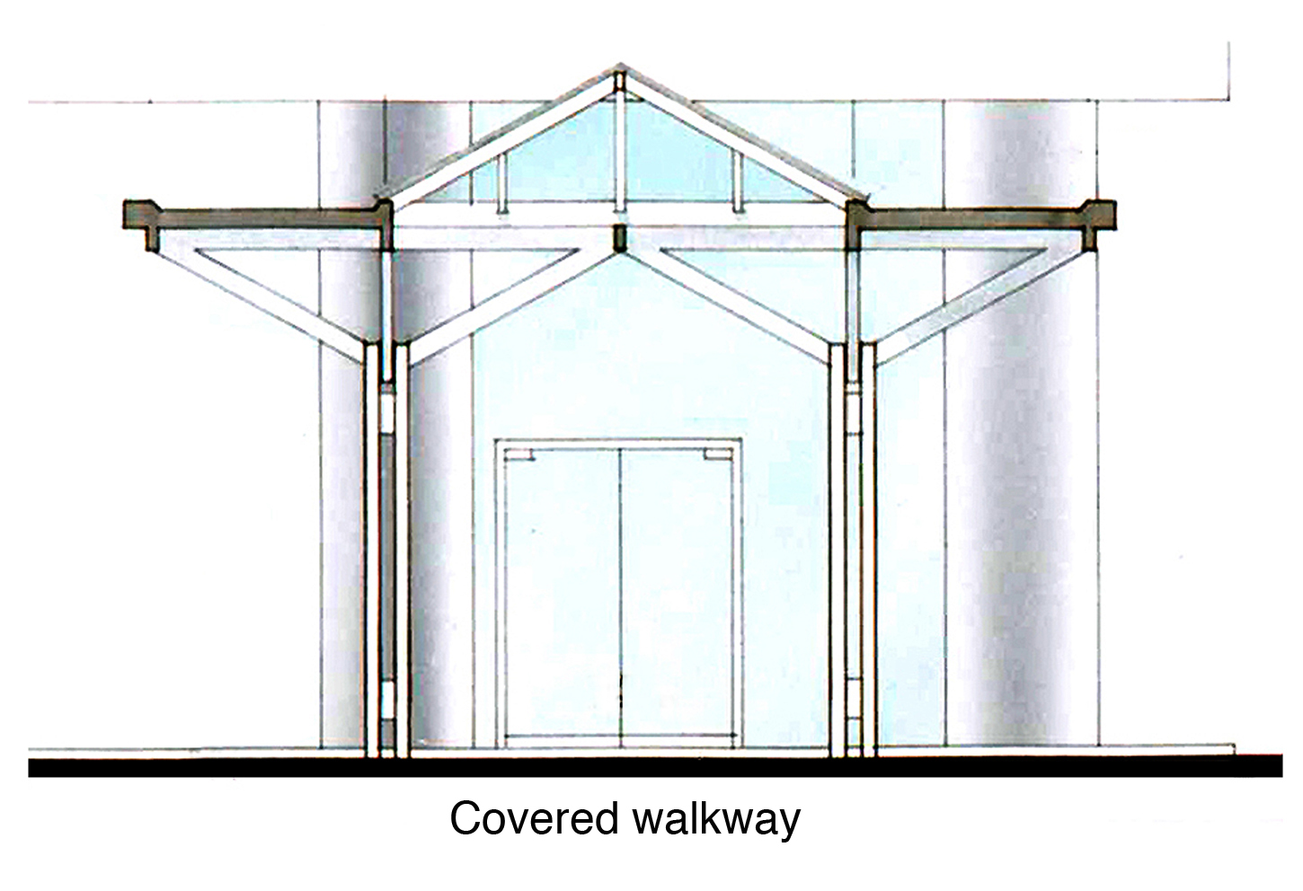 Covered Walkway Construction : Canopies variations on a theme part archi
